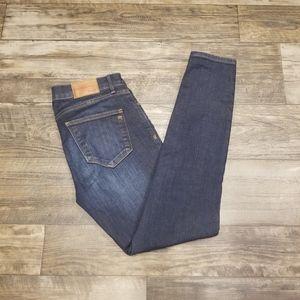 Madewell Skinny Jeans- Dark Wash